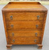 Oak Chest of Drawers - SOLD